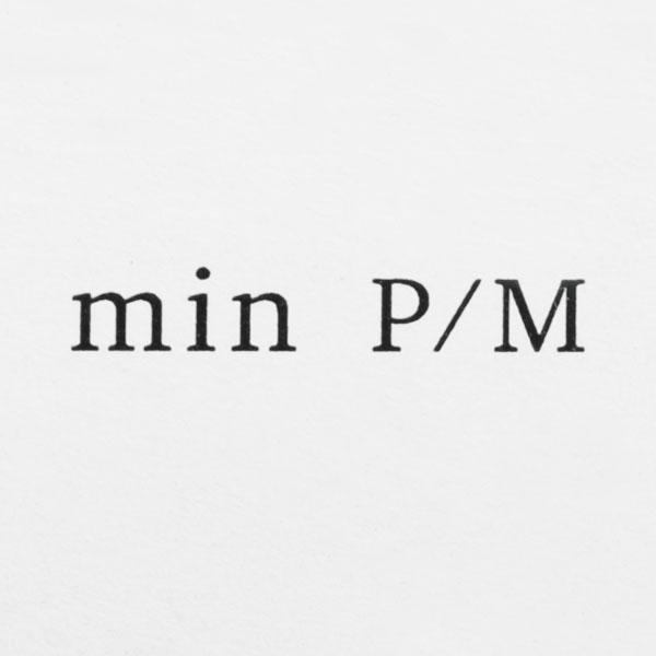 ミンピイエム ロゴ