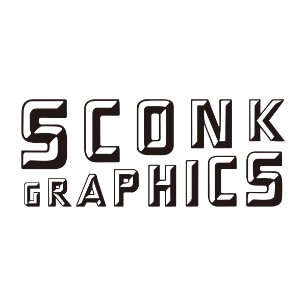 sconk graphicsロゴ