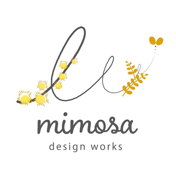 ミモザデザインワークスロゴ