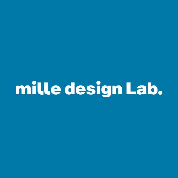 ミルデザインラボロゴ
