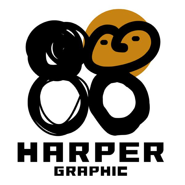 ハーパーグラフィックロゴ