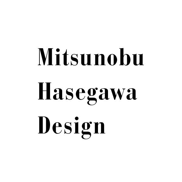 ハセガワミツノブデザインロゴ