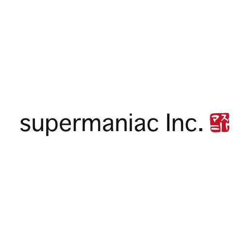 株式会社スーパーマニアック ロゴ