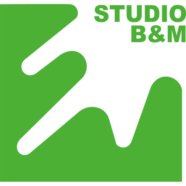 株式会社スタジオ・ビーアンドエムロゴ