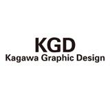 賀川グラフィックデザイン事務所ロゴ