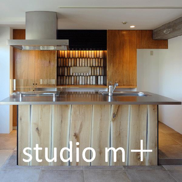 株式会社studio m+ロゴ