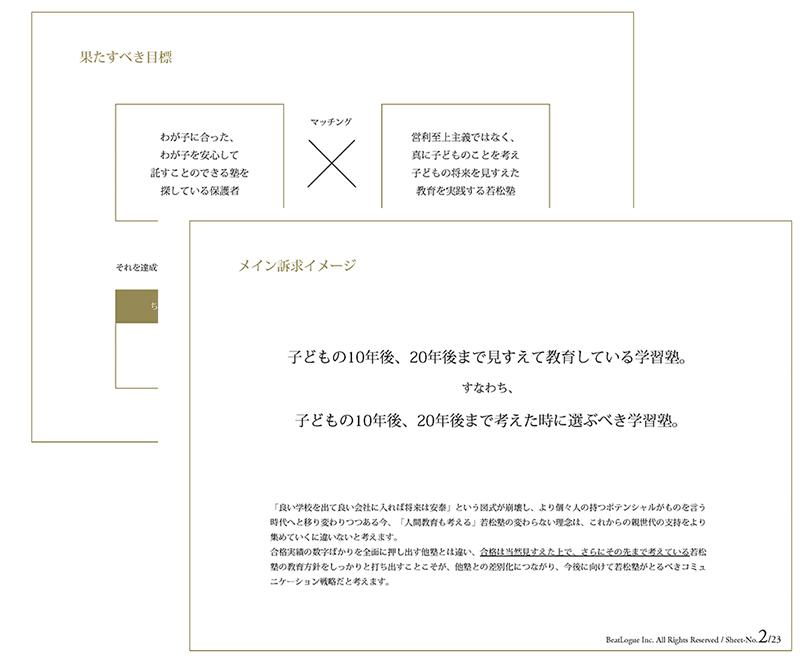 若松塾のサイトリニューアル企画書