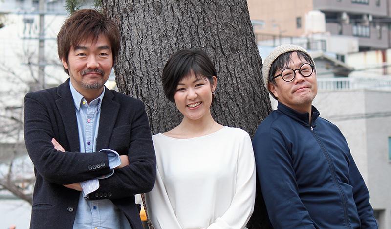 鈴木康祐氏、アベチカ氏、賀來寿史氏