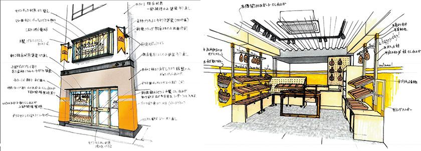 店舗デザインイメージ