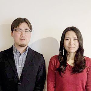 上野靖氏と西井由布子氏