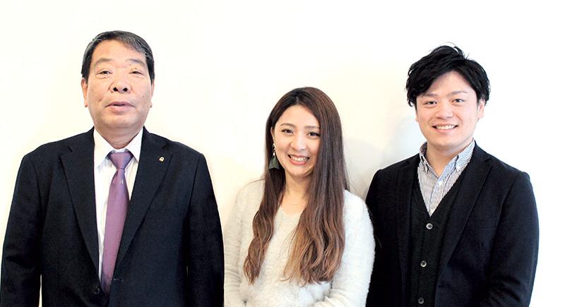 渡辺さん、石井さん、野田さん