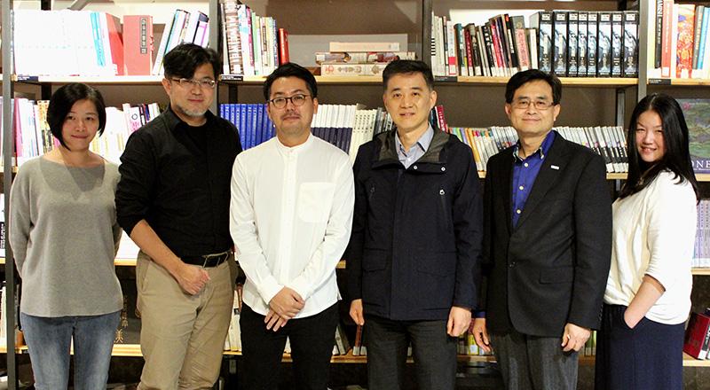 クリエイターと台湾デザインセンターのみなさん