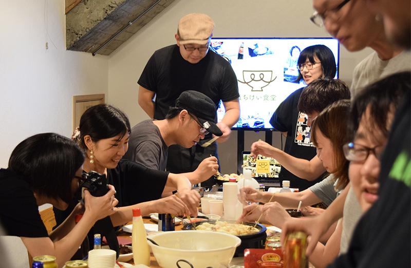 コワーキングスペース「SHINCRU」で行われたイベントの様子
