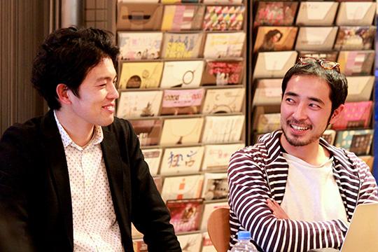 白須氏と山口氏