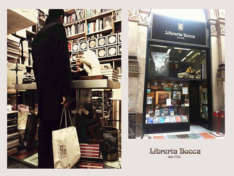 ミラノの老舗書店