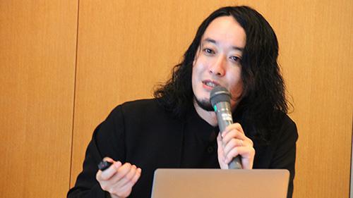 「クリエイティブサロン Vol.190 佐藤大介氏」開催風景